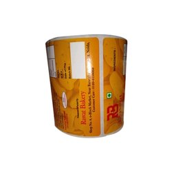 Adhesive Paper Printed Adhesive Sticker, Packaging Type: Roll