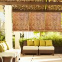 Vama Brown Roll Up Bamboo Curtain