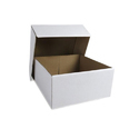 White Corrugated Paper Gift Box