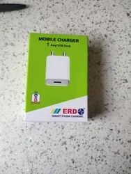 1 Mtr White Mobile Charger
