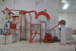 Semi-Automatic Standard Gram Flour Machine, Capacity: 100kg - 2000kg Per Hour