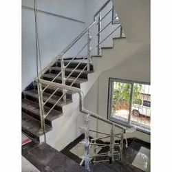 Stainless Steel Balcony And Stair Railings, Size: 914 Mm