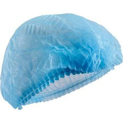 Blue Non Woven Disposable Surgical Bouffant Caps, Model Name/Number: Shc_dsbc, Size: 16 18 21 24