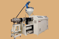 Shree Amba Semi-Automatic Twin Screw Extruder Machine, 110-315 kg/hr