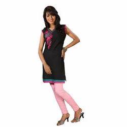 Hosiery Knitted Spun Plain Ladies Designer Legging