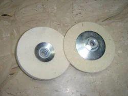 Felt Wheel with Metal Backing