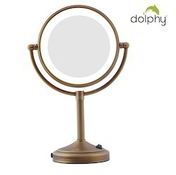 Magnifying LED Tabletop Mirror