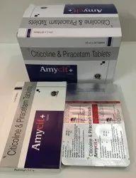 Citicoline 500mg & Piracetam 800mg Tablets