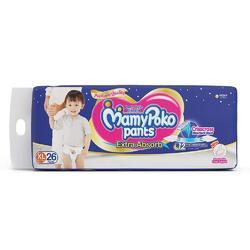 MamyPoko Pant Style Extra Large Size Diapers (26 Count)