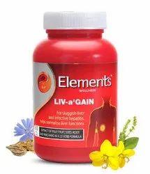 Elements Liv A Gain 60 Caps