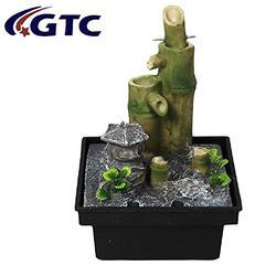 Water Fountain Bamboo Nature  Home Decorative  (ITN-9071)