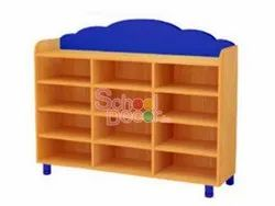 Nursery Class Room Toy Shelf