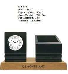 Table Clock with Penstand