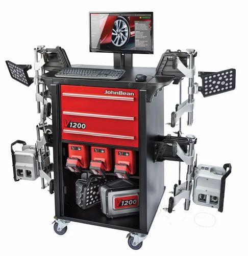 Wheel Alignment Machine >> Johnbean Wheel Service Equipments 3d Wheel Alignment