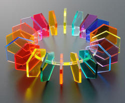 Colored Transparent Acrylic Sheet, Acrylic Sheets - Sameer Polymer ...
