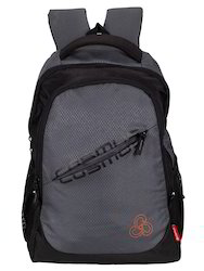 Grey Hiones Polyester Laptop Backpack Bag