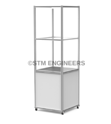 2 Shelf Lean Column