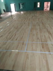 Indoor Maple Wood Badminton Court Flooring