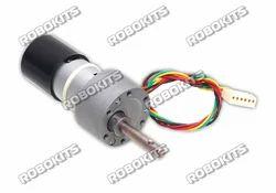 High Torque Quad Encoder Geared Dc Motor 12v 300rpm
