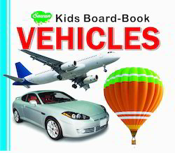 Kids Board Book Vehicles