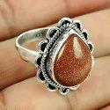 Gemstone 925 Sterling Silver Ring