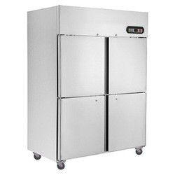 4 Door Upright Refrigerator