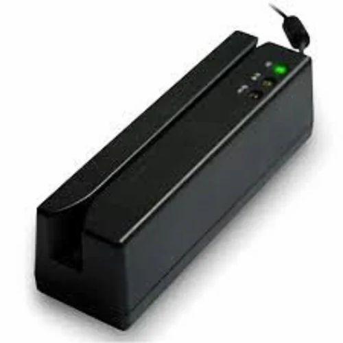 Black Magnetic Stripe Card Reader MSR100