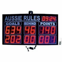 Aussie Rules Scoreboard