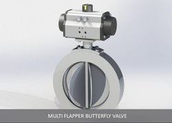 Multi Flapper Butterfly Valve