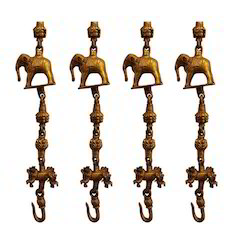 Brass Elephant Chain