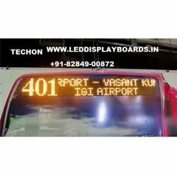 Techon Bus LED Display Board