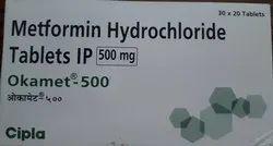 Metformin Hydrochloride Tablets IP 500 Mg