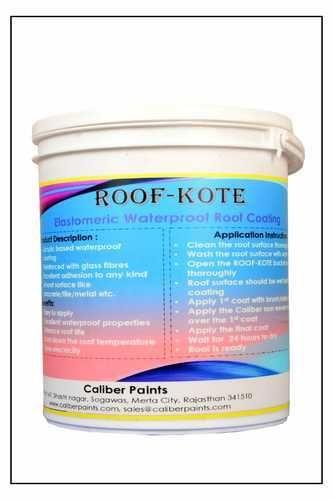 Caliber Paints Waterproof Elastomeric Roof Coating : Roof-kote | ID