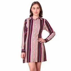 Stripe Short Dress