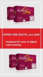 Paper One Digitel 100 GSM, For Printing, Packaging Size: 500 Sheets per pack