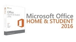 Microsoft Windows Office Home & Student 2016 for PC