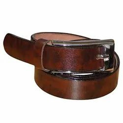 Casual Wear Mens Leather Belt, Packaging Type: Box