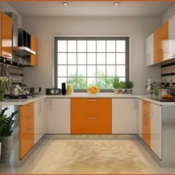 Modular U - Shape Kitchen