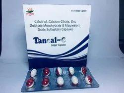 Calcitriol Calcium Citrate Zinc Sulphate Monohydrate and Magnesium Oxide Soft Gelatin Capsules