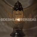 Deshilp Overseas And Contemporary Crackle Glass Lanterns