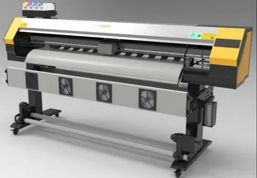 Banner Printing Machine konika 512i, For Industrial