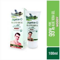Algeloe-O Pre & After Shave Gel - Woody