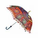 Indian Embroidered Parasol Umbrella