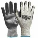 Cotton, Rubber Premium Defense Safety Gloves
