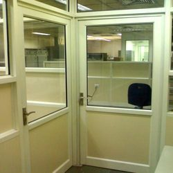 Office Cabin Aluminum Door, Size/Dimension: 3 Feet