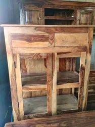 Wooden Office Rack