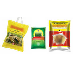 Optional Bags For Agro Chemicals & Pesticides, Capacity: 100gm To 5kg