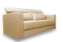 Adorn India Bentley 3 Seater Sofa ( Beige)