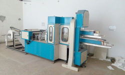 Automatic Paper Napkin Making Machine (Double Deck)