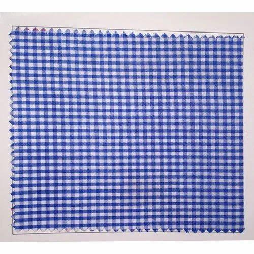 School Uniform Check Fabric, GSM: 100 - 150